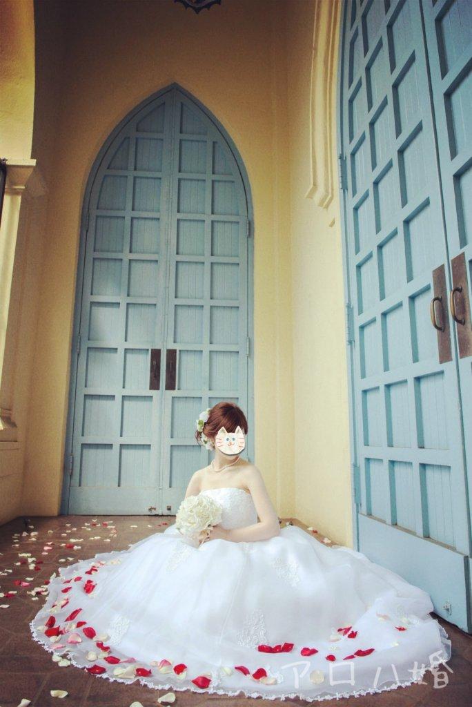 ハワイ結婚式の花嫁ロケーションフォト
