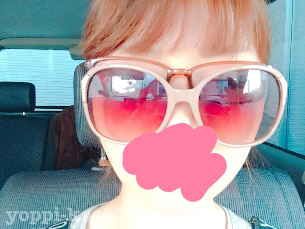 メガネとサングラスの合わせ技