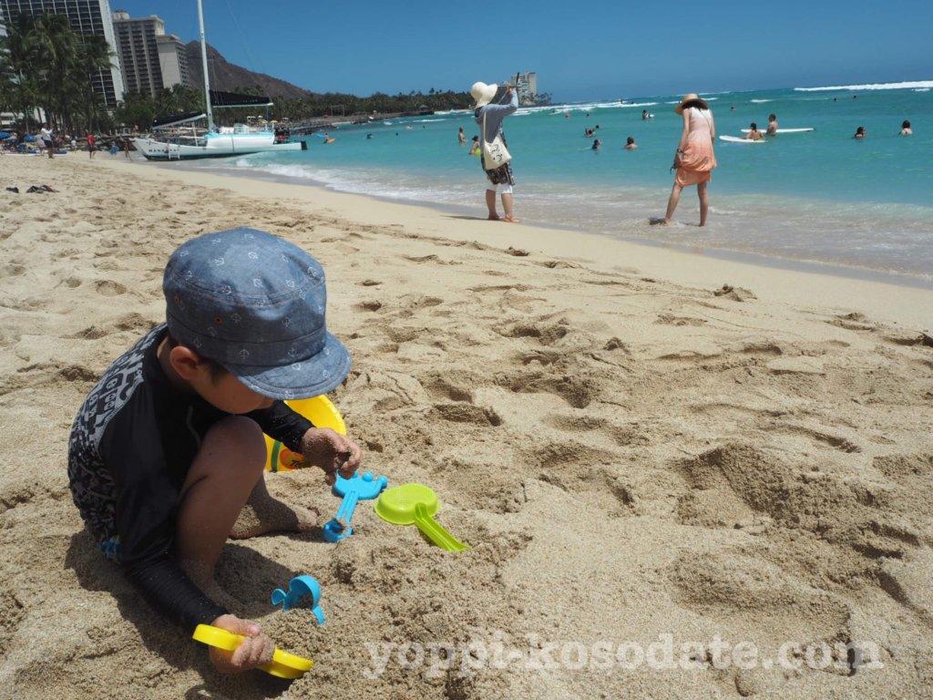 子連れのハワイ旅行