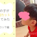4歳の子ども(男の子)が 1000円カットに行ってみた