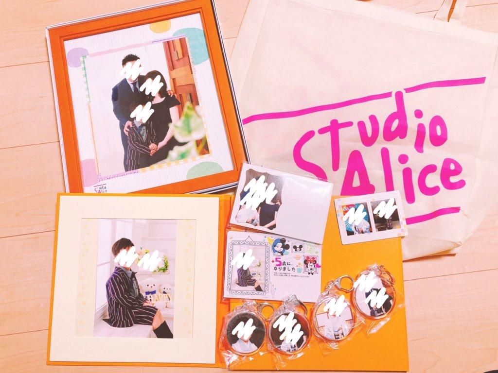 スタジオアリス1万円分の七五三商品