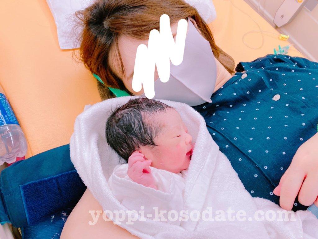 コロナ禍での出産はマスク着用